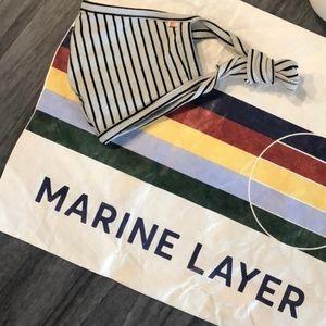 Marine Layer- Signature Tie Mask